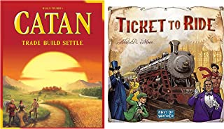 CATAN with Days of Wonder Ticket to Ride