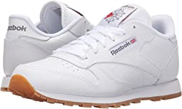 7dc7802e6cd81 Reebok kids classic leather youth white white white
