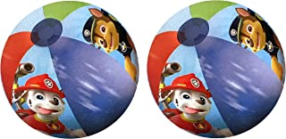 Nickelodeon Paw Patrol Inflatable Beach Balls - Two Pack Chase Marshall