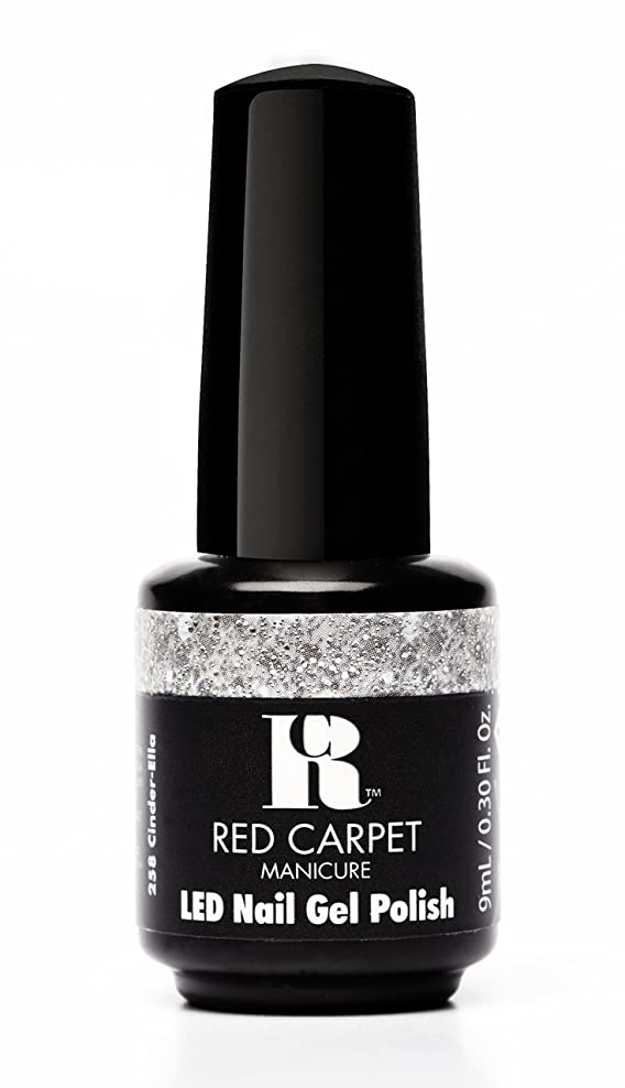 緩める時々Red Carpet Manicure - LED Nail Gel Polish - Trendz - Cinder-Ella - 0.3oz / 9ml