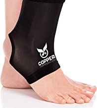 Copper Compression Gear Premium Fit Recovery Ankle Sleeve – 100% Guaranteed –..