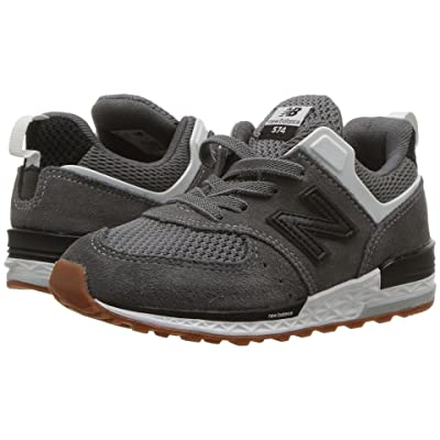 New Balance Kids IH574v2 (Infant/Toddler) (Castlerock/Black) Boys Shoes