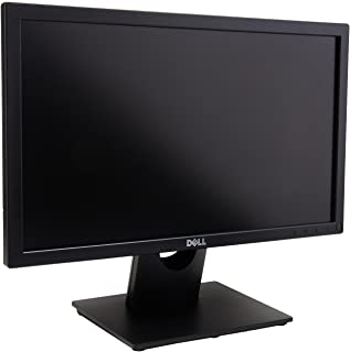 شاشة من ديل حجم 20 بوصة بتقنية ليد - اسود، E2016H