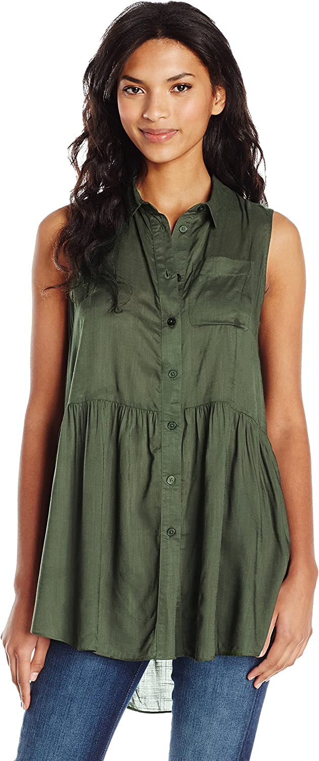 French Connection Womens Summer Slub Blouse