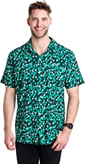 aaa46f9e Men's St. Patrick's Day Button Down Shirt - St. Paddy's Hawaiian ...