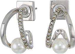 Rhodium/Crystal/Ivory Pearl
