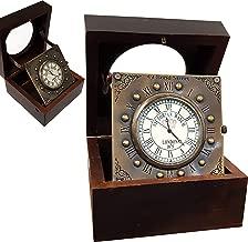 Collectibles Buy Vintage Titanic Wooden Clock Marine Home Decorative Handmade Article Brass Desk Clock Antique Gift Item