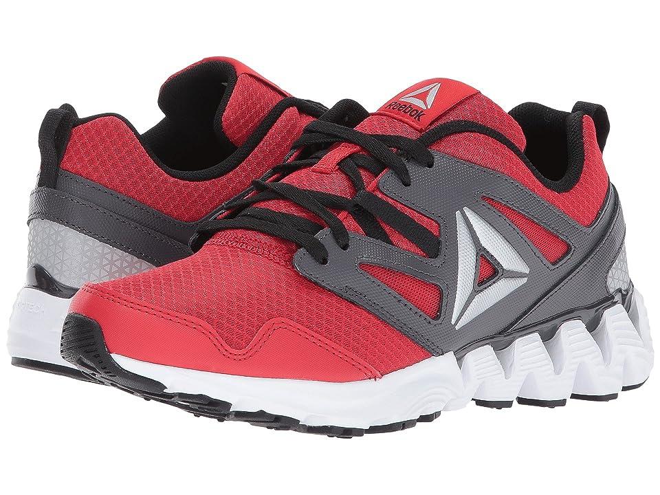 Reebok Kids Zigkick 2K17 (Big Kid) (Primal Red/Ash Grey/Black/White/Silver) Boys Shoes