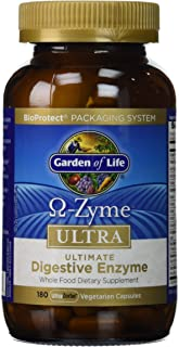 Garden of Life Omega-Zyme Ultra Ultimate Digestive Enzyme Blend 180 Veg Caps