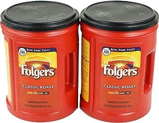 Folgers Classic (Medium) Roast Ground Coffee 48oz