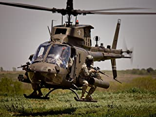 Army Poster Army Motivation Poster OH-58D Kiowa Warrior helicopter 18X24 (ARMY208)