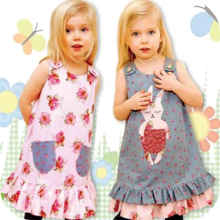 Kids Sewing Pattern - (Girls & Boys Sewing Patterns. Learn How To Sew + Sew a Dress)