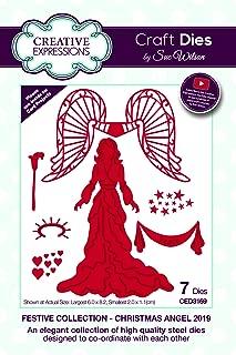 Sue Wilson Festive Collection - Christmas Angel Dies
