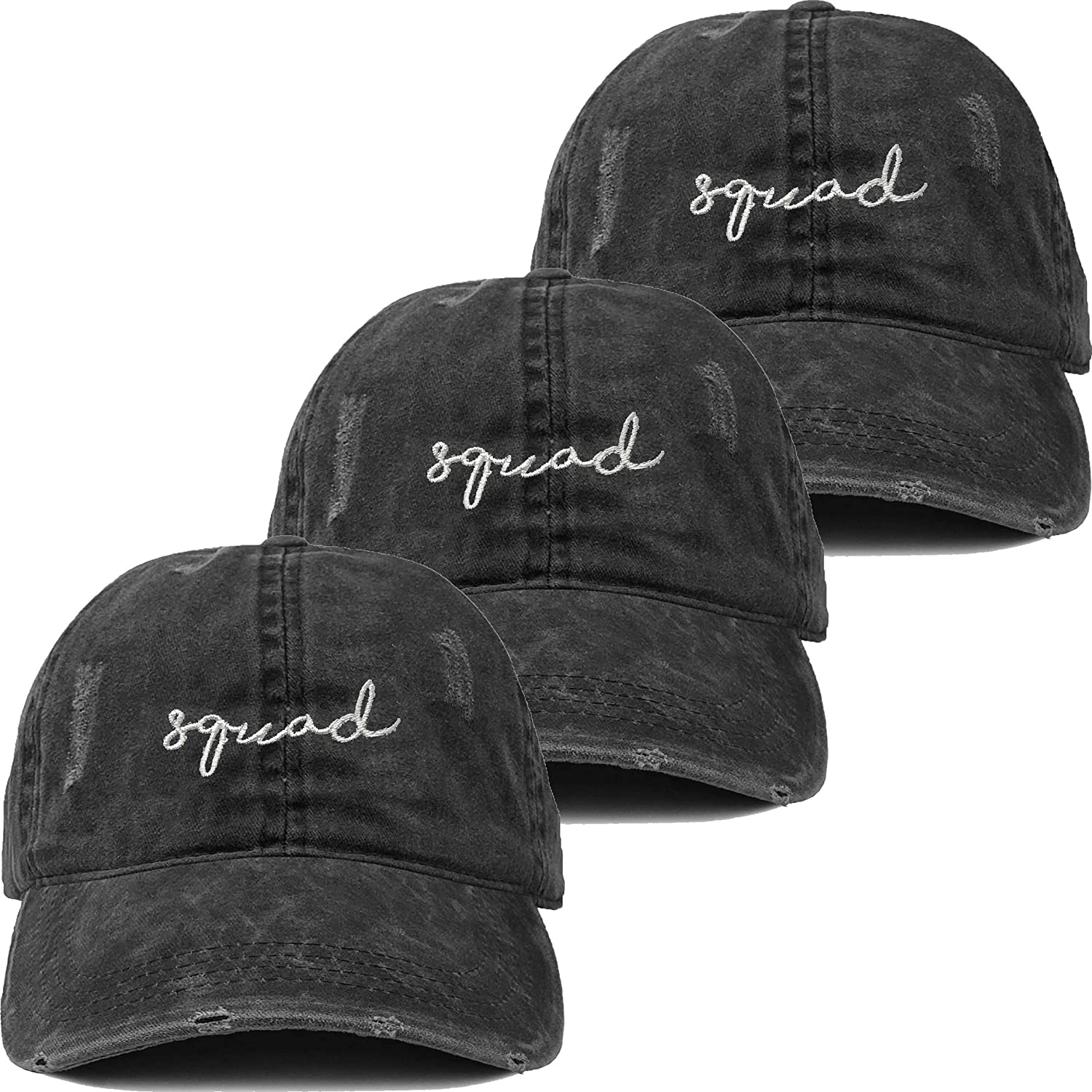 Funky Manufacturer direct delivery Junque Dad Hat Unisex Cotton online shopping Vintag Profile Distressed Low
