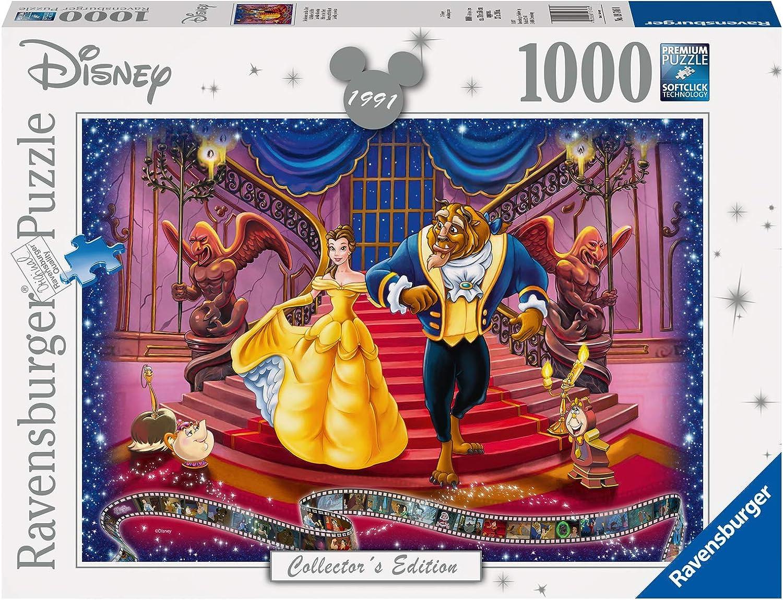 RavensburgerDisney Beauty and The Beast 1000 Piece Jigsaw Pu