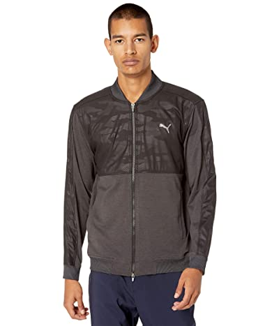 PUMA Golf Cloudspun Stealth Camo Jacket (PUMA Black) Men