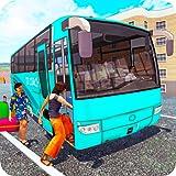 モダンなツーリストバス:オフロードバスシミュレーターの新しい2020現実のバス処理ゲームコーチバス