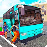 Modern Tourist Bus:Offroad bus simulator new 2020 real life bus handling game coach bus