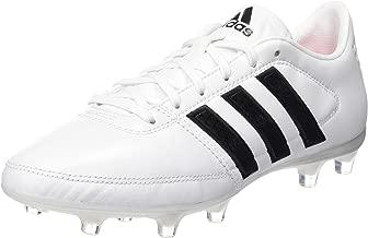 adidas Performance Boys Kids Gloro 16.1 Firm Ground Soccer Sports Boots - White