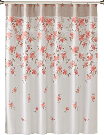 SKL Home by Saturday Knight Ltd. Coral Garden Floral Fabric Shower Curtain