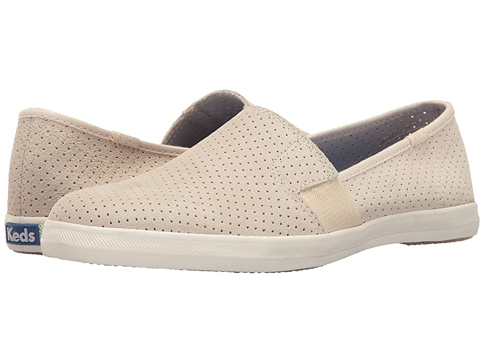Keds Chillax A-Line Perforated Suede (Cream) Women