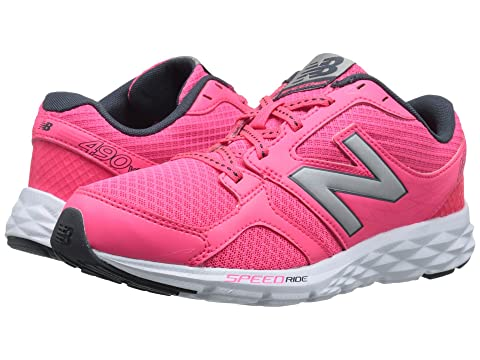 Womens Shoes New Balance W490V3 Pink Zing
