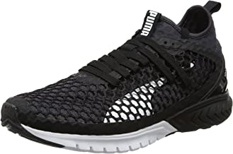 Puma Ignite Dual Netfit Mens Running Trainer Black