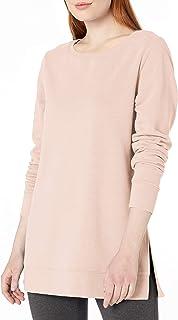 comprar comparacion Amazon Essentials Túnica Francesa de Forro Polar con Cuello Abierto. Tunic-Shirts Mujer