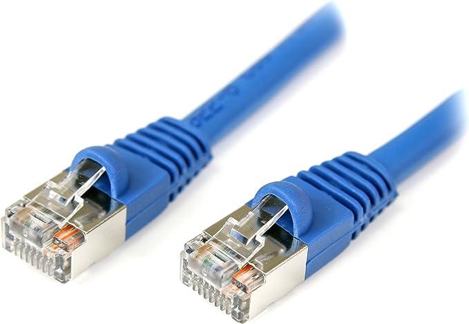 25 ft SoDo Tek TM RJ45 Cat5e Ethernet Patch Cable For Samsung SCX-4828FN Printer Blue