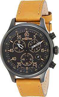 Timex Men's Expedition Field Chronograph 43mm Watch TW4B12300