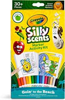 Crayola Silly Scents Markers Activity, Coloring Book & Markers