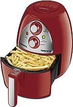 Fritadeira Sem Óleo Mondial, Family Inox-Red - 4L, 220V, 1500W - AF-14