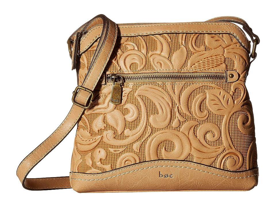 b.o.c. Botanica Mini Crossbody (Luggage) Cross Body Handbags, Brown
