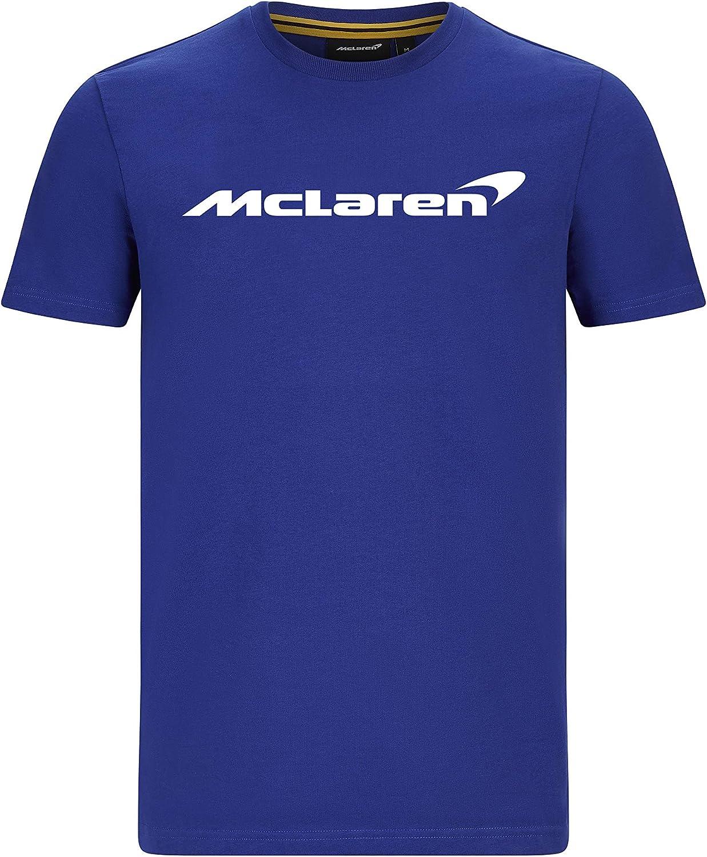 McLaren F1 Men's sold out Essentials T-Shirt Blue Orange Anthracite Ranking TOP6