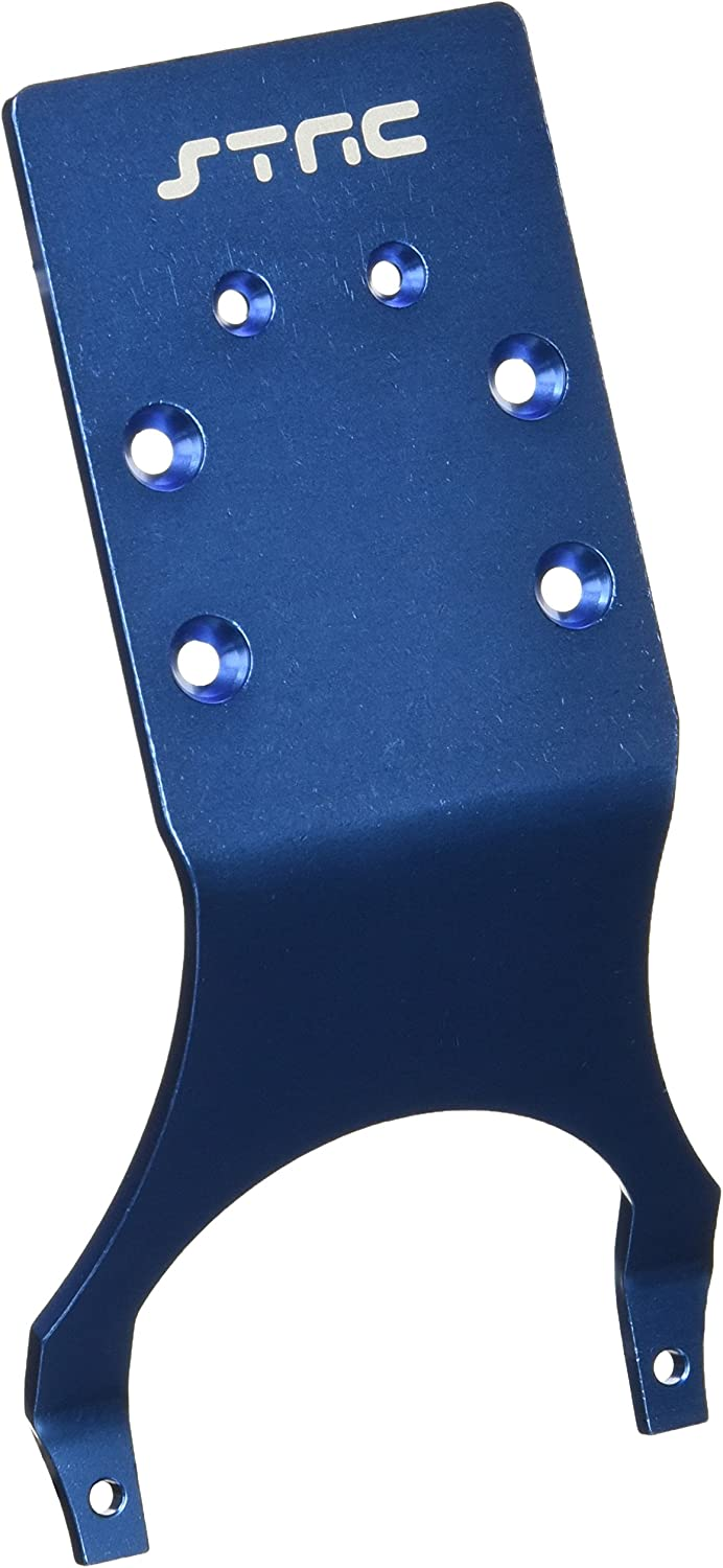 ST Racing Concepts ST3623RB Rear Skid Plate for Stampede and Slash (bluee)