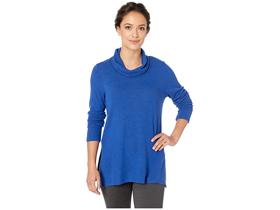 Karen Kane Cowl Neck Sweater (Blue) Women