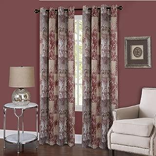 Achim Home Furnishings, Marsala Vogue Grommet Window Curtain Panel, 50
