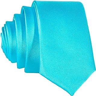 DonDon Cravatta Uomo 5 cm di larghezza - disponibile in diversi colori