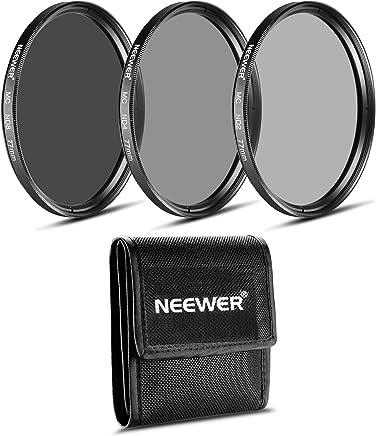 Neewer ND 滤芯套装 (ND2 ND4 ND8)10087838 77MM 黑色