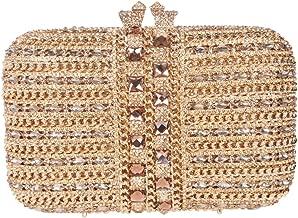 Fawziya Bling Clutches For Women Rhinestone Clutch Evening Bag