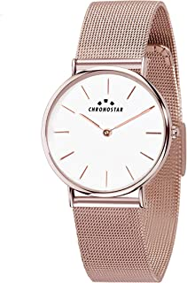Chronostar R3753252505 Preppy Year Round Analog Quartz Rose Gold Watch