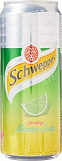 Schweppes Manao Lime Soda, 330ml (Pack of 12)