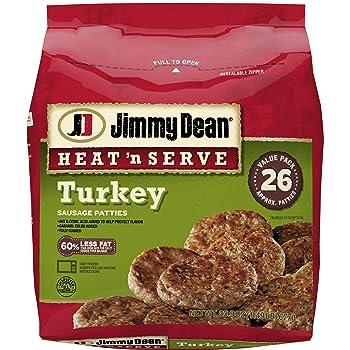Jimmy Dean Heat n Serve Turkey Sausage Patties