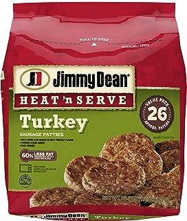 Jimmy Dean, Heat and Server Turkey Patties, 23.9 oz