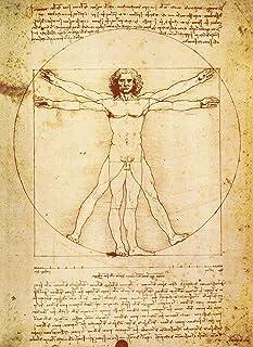 "PalaceLearning Vitruvian Man by Leonardo Da Vinci Poster - Proportions of The Human Figure Drawing - Fine Art Print 18"" x 24"""