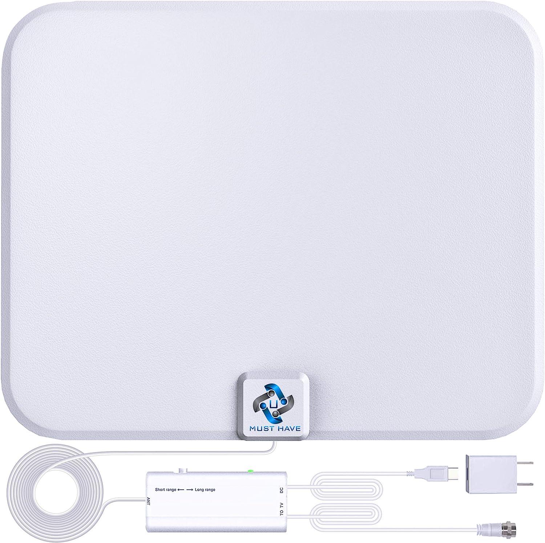 U MUST HAVE Amplified HD Regular discount Digital 250+ Weekly update TV Long Miles Rang Antenna