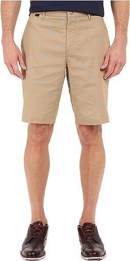 Modern Fit Print Shorts