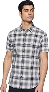 US Polo Association Men's Checkered Slim Fit Casual Shirt