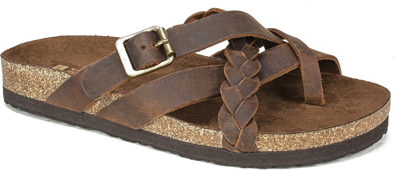 WHITE MOUNTAIN Women's Harrington Flat Sandal