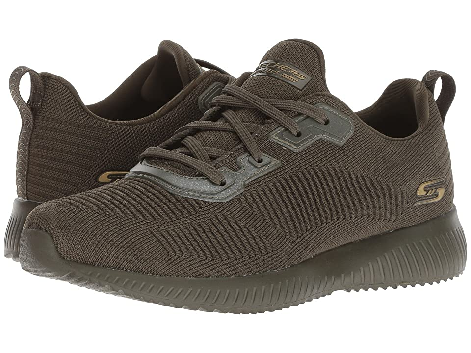 BOBS from SKECHERS Bobs Squad Tough Talk (Olive) Women